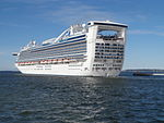 Caribbean Princess departing Tallinn 10 August 2015.JPG