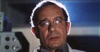 Carl Duering - Duering in a trailer for A Clockwork Orange (1971)