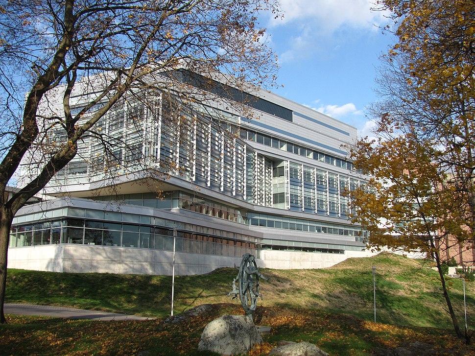 Carl J Shapiro Science Center, Brandeis University, Waltham MA