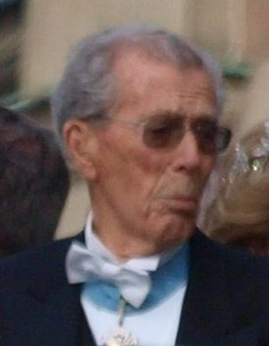 Carl Johan Bernadotte - Bernadotte at the Crown Princess Victoria's wedding in 2010.