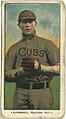 Carl Lundgren, Chicago Cubs, baseball card portrait LCCN2008675183.jpg