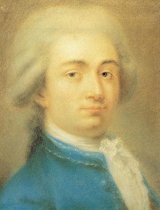 Carlo Goldoni - Pastel, c.1750
