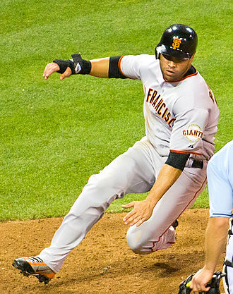 Carlos Beltrán - Beltrán playing for the San Francisco Giants in 2011