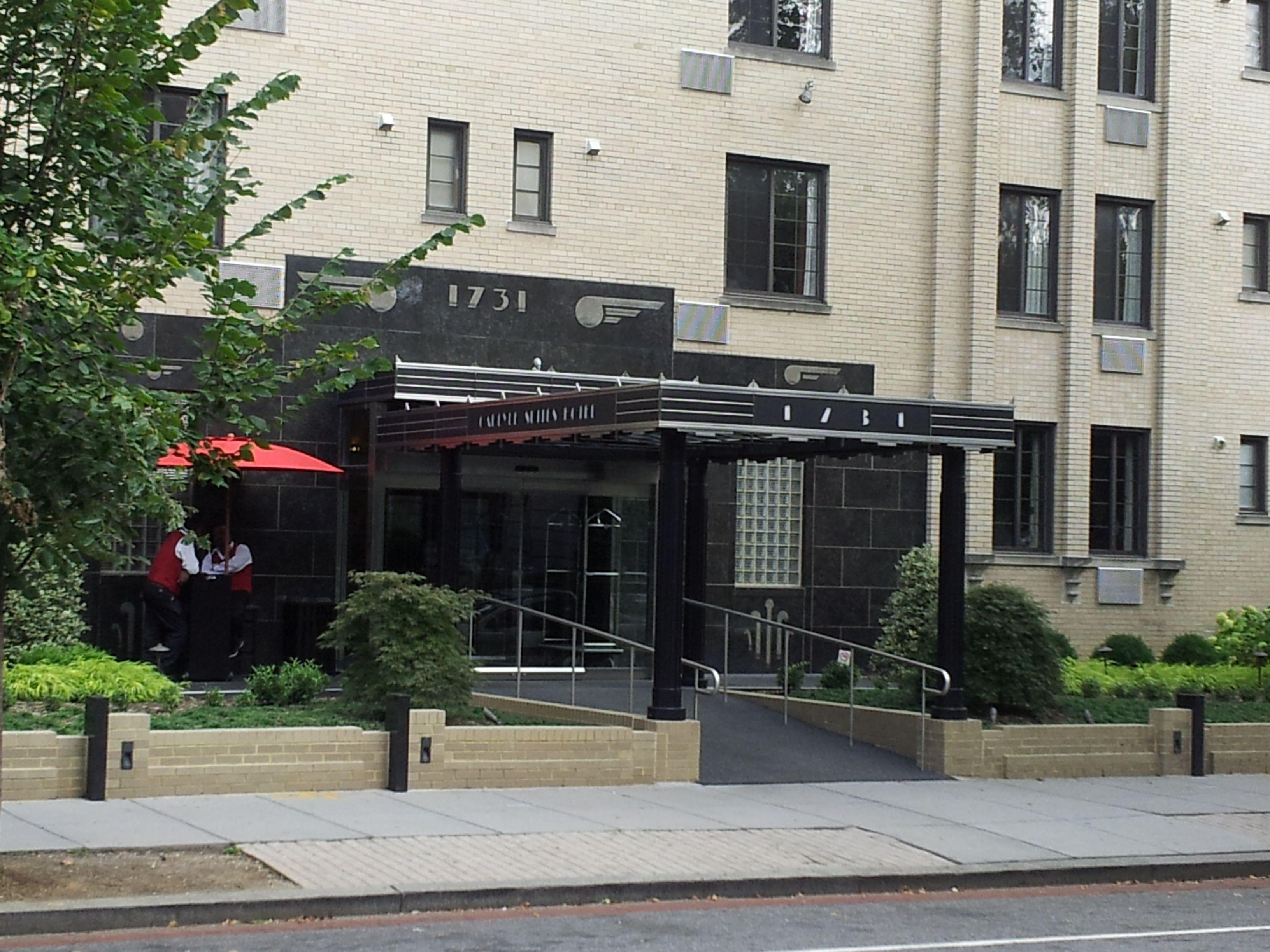 Carlyle Suites Hotel  New Hampshire Ave Nw Washington Dc