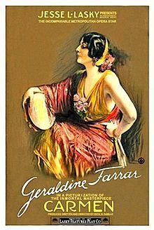 Resultado de imagen de carmen 1915 cecil b demille film
