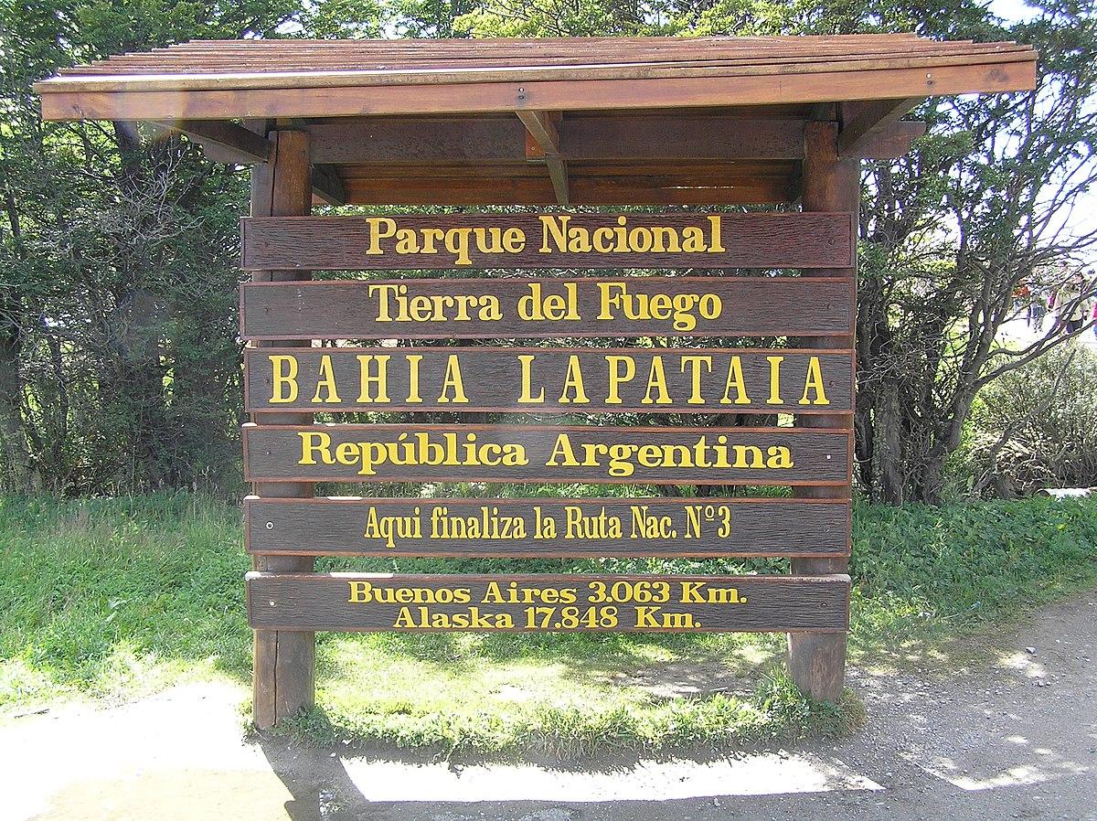 Tierra del Fuego National Park - Wikipedia