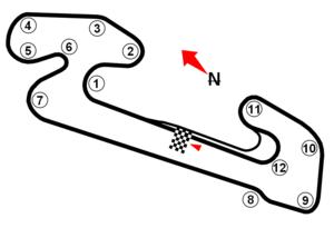 Autódromo Internacional Ayrton Senna (Caruaru) - Image: Caruarucircuito