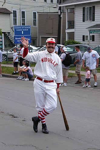 Casey at the Bat - Tim Wiles, Director of Research at the Baseball Hall of Fame Library in Cooperstown, frequently dresses as Casey to recite the poem.