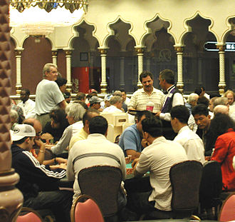 History of poker - Poker Room at the Trump Taj Mahal, Atlantic City, New Jersey
