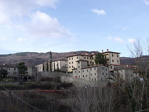 Castel Focognano - Panorama of Castel Focognano