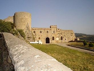 Bovino - Romanic castle of Bovino with Norman Tower