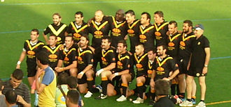 Catalonia national rugby league team - Catalonia national rugby league team in 2009