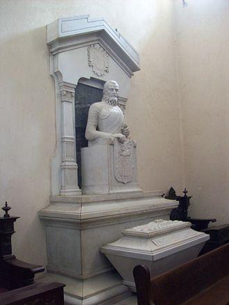 Tunja - Tomb of Gonzalo Suárez Rendón