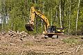 Caterpillar excavator in Khimki Forest 1.jpg