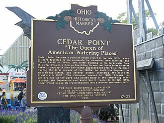 Cedar Point - Historic Marker
