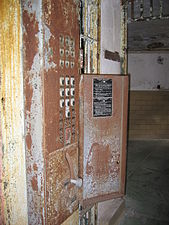 Cell Locking Mechanism, Eastern State Penitentiary.JPG