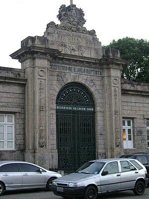 Cemitério de São João Batista - Main entrance of the cemetery