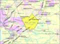 Census Bureau map of Washington Township, Mercer County, New Jersey.png