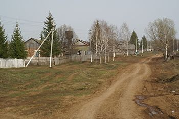 Central Street, Timerlek, Nurlatskii District, Russia - April 2008.JPG
