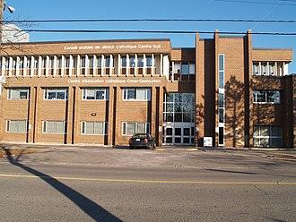 Conseil scolaire catholique MonAvenir - Centre d'éducation catholique Omer-Deslauriers, head office for the school board
