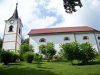 Cerkev svete Magdalene, Hom.jpg
