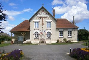 Cerny-en-Laonnois - The town hall of Cerny-en-Laonnois