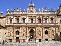 Certosa di Padula - la facciata sulla corte esterna (XVI secolo - 1723).jpg