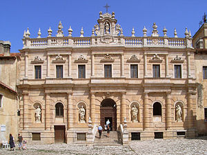 Certosa di Padula - Facade of the monastery