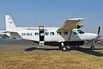 Cessna 208B Caravan 'ZS-SLO' (15423559144).jpg