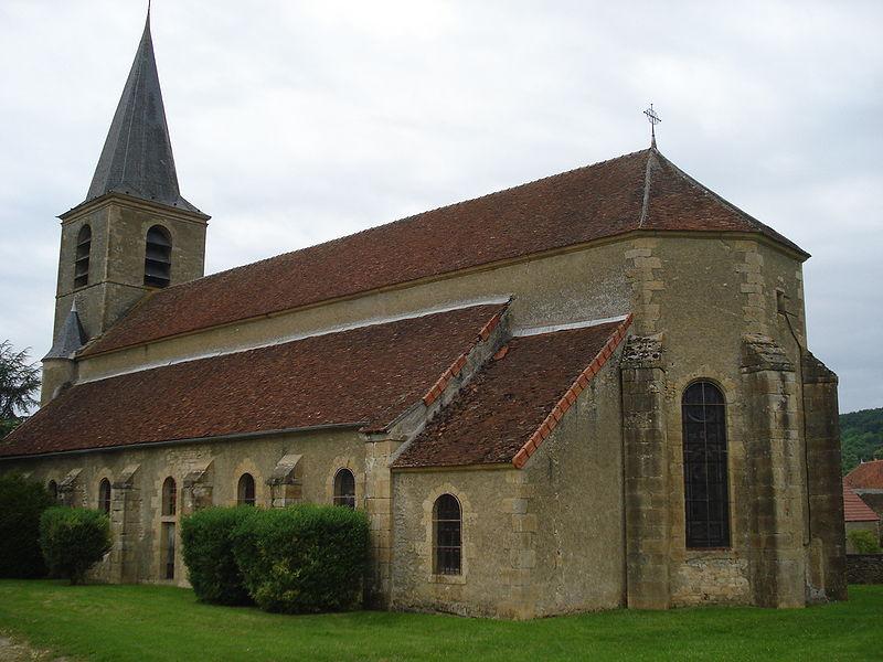 Église de Châteauneuf-Val-de-Bargis.