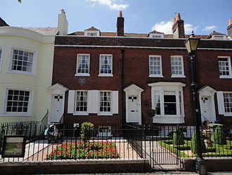 Charles Dickens - Charles Dickens's birthplace, 393 Commercial Road, Portsmouth