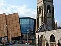 Charles Church and Drake Circus Shopping Centre, Plymouth - geograph.org.uk - 1702340.jpg