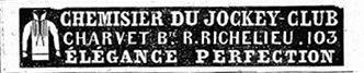 Charvet advertisement 1839 (2)