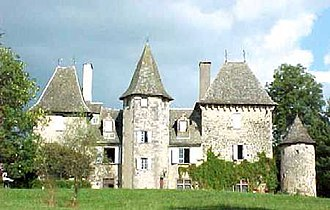 Ytrac - The Château Lamartinie, in Ytrac