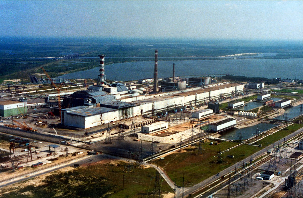 Chernobyl Nuclear Power Plant Wikipedia Diagram Explanation
