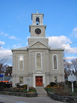 Chestnut Hill, Philadelphia - Chestnut Hill Baptist Church built 1835