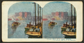 Chicago River on a foggy morning, from Robert N. Dennis collection of stereoscopic views.png