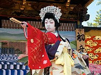 Children kabuki theater in Nagahama (lady Shizuka, 10 y.o.); 2013.jpg