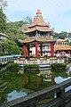 Chinese pavilion, Haw Par Villa (14790814111).jpg