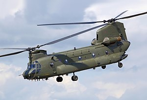 Boeing Chinook (UK variants) - A Royal Air Force Chinook HC2 in 2008
