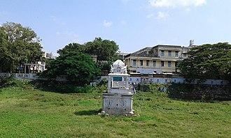 Adikesava Perumal temple, Mylapore - Chittirai Kulam - the temple tank