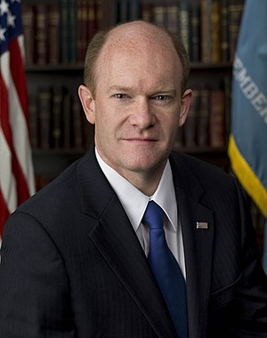 Chris Coons - Image: Chris Coons, official portrait, 112th Congress
