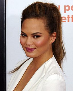 Chrissy Teigen American model and author