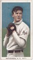 Christy Mathewson, New York Giants, baseball card portrait LCCN2008676493.tif