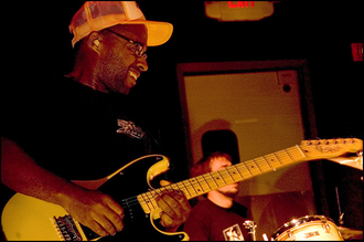 Chuck Treece - Chuck Treece playing guitar