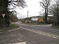 Chudleigh Road B3193 at Rixeypark Corner - geograph.org.uk - 1742144.jpg