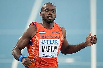2011 World Championships in Athletics – Men's 100 metres - Churandy Martina competing in Daegu