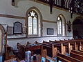 Church of the Holy Innocents, High Beach, Essex, England - nave north wall.jpg