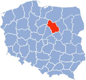 Ciechanów Voivodeship - Ciechanów Voivodeship