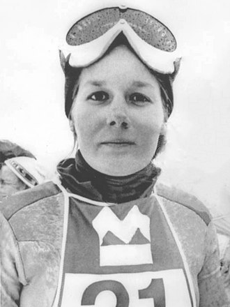 Cindy Nelson - Nelson in 1975
